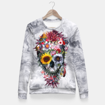 Voodoo Skull Fitted Waist Sweater thumbnail image