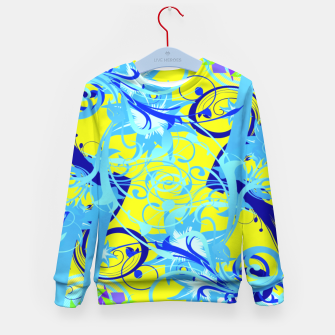 Thumbnail image of Abstract illustration Kid's Sweater, Live Heroes