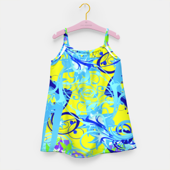 Thumbnail image of Abstract illustration Girl's Dress, Live Heroes