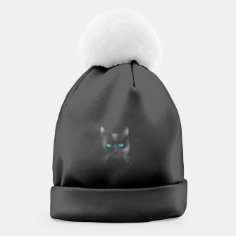 Thumbnail image of BLK Cat Beanie, Live Heroes