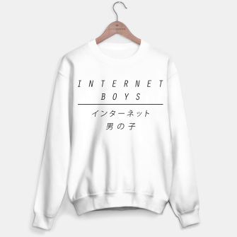 Miniature de image de internet boys x japan Sweater regular, Live Heroes