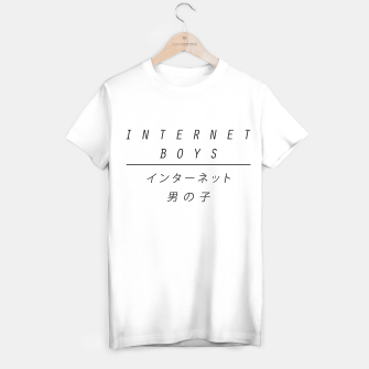 Miniature de image de internet boys x japan T-shirt regular, Live Heroes