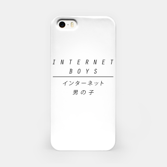 Miniature de image de internet boys x japan iPhone Case, Live Heroes