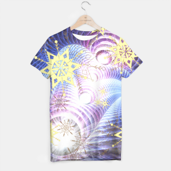 Thumbnail image of Fractal energy bursts T-shirt, Live Heroes