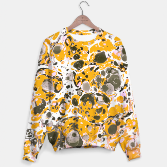 Thumbnail image of Watercolor paint stains Sudadera, Live Heroes