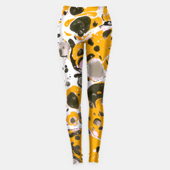 Thumbnail image of Watercolor paint stains Leggings, Live Heroes