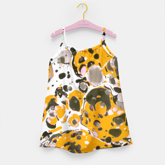 Thumbnail image of Watercolor paint stains Vestido para niñas, Live Heroes
