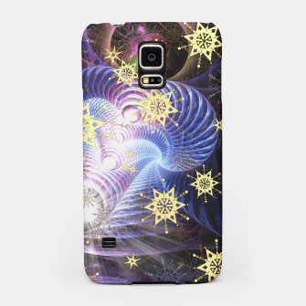 Thumbnail image of Fractal energy bursts Samsung Case, Live Heroes