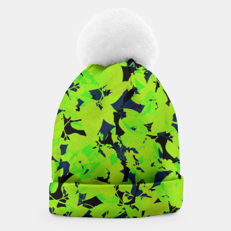 Thumbnail image of Green Jungle Beanie, Live Heroes