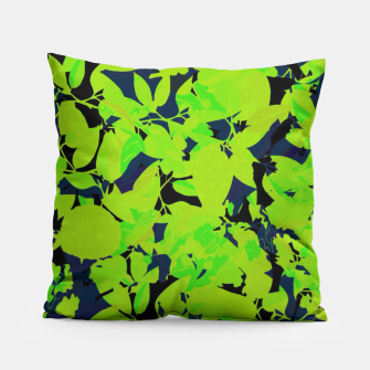 Thumbnail image of Green Jungle Pillow, Live Heroes