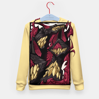 Miniaturka wolves and flames Kid's Sweater, Live Heroes