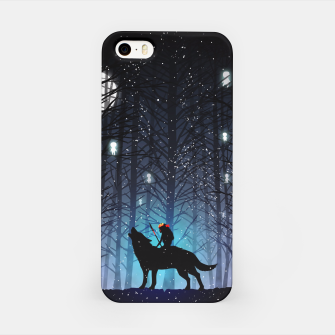 Forest wolf Carcasa por Iphone thumbnail image