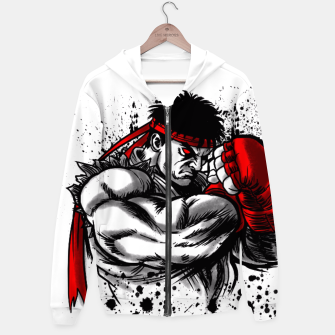 Thumbnail image of Fighter Defense Sudadera con capucha, Live Heroes