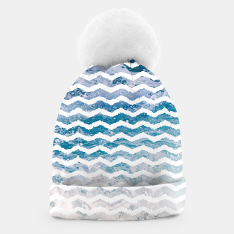 Thumbnail image of Ocean Waves Beanie, Live Heroes
