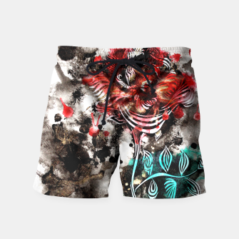 Thumbnail image of Rose Swim Shorts, Live Heroes
