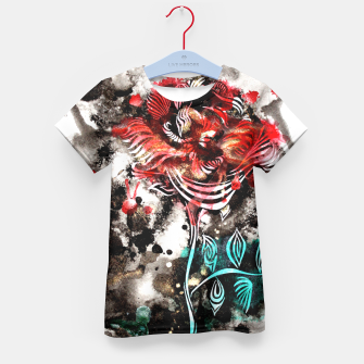 Thumbnail image of Rose Kid's T-shirt, Live Heroes