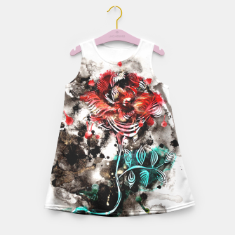 Thumbnail image of Rose Girl's Summer Dress, Live Heroes