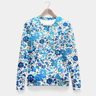 Thumbnail image of Blue Palette  Fitted Waist Sweater, Live Heroes