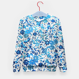 Thumbnail image of Blue Palette  Kid's Sweater, Live Heroes