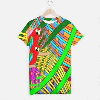 Thumbnail image of Abstract Parrot T-shirt, Live Heroes