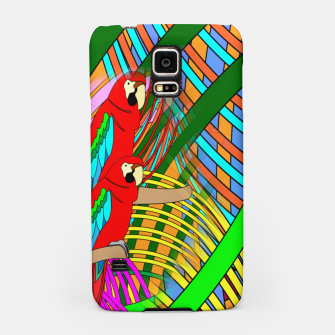 Thumbnail image of Abstract Parrot Samsung Case, Live Heroes