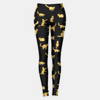 "Miniatur ""Golden cats"" Leggings, Live Heroes"