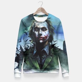 Miniatur joker Fitted Waist Sweater, Live Heroes