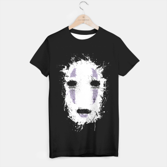 Ink No Face Camiseta Regular obraz miniatury