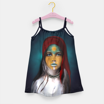 Thumbnail image of Chalchiuhtlicue Girl's Dress, Live Heroes