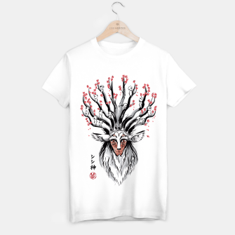 The Deer God sumi-e Camiseta Regular obraz miniatury