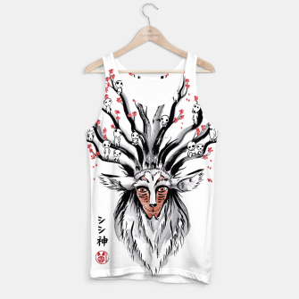 The Deer God sumi-e Camiseta de tirantes obraz miniatury