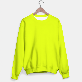 Lime Flat Color Sweater obraz miniatury