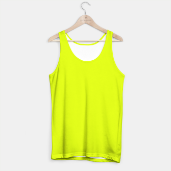 Lime Flat Color Tank Top obraz miniatury