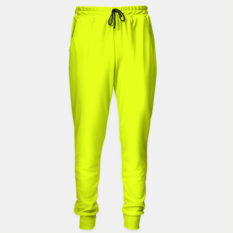 Lime Flat Color Sweatpants obraz miniatury