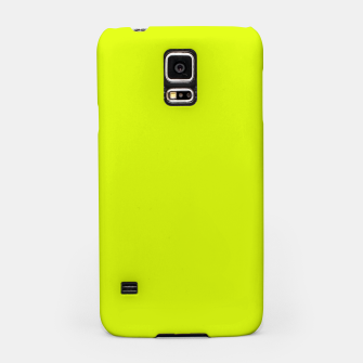 Lime Flat Color Samsung Case obraz miniatury