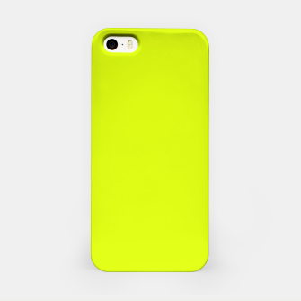 Lime Flat Color iPhone Case obraz miniatury