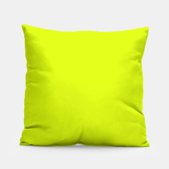 Lime Flat Color Pillow obraz miniatury