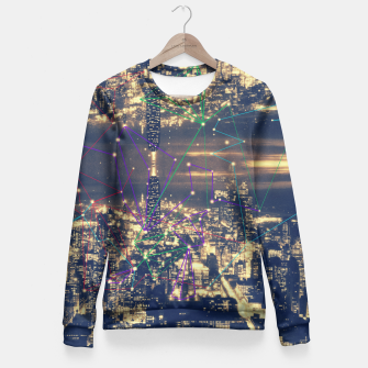 Miniature de image de New York Fitted Waist Sweater, Live Heroes