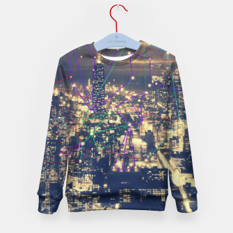 Thumbnail image of New York Kid's Sweater, Live Heroes