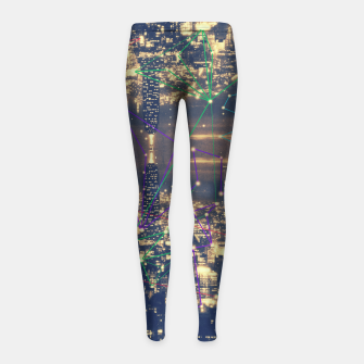 Miniature de image de New York Girl's Leggings, Live Heroes