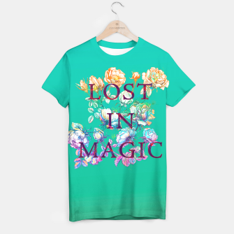 Thumbnail image of Lost in Magic T-shirt, Live Heroes