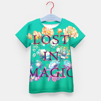 Thumbnail image of Lost in Magic Kid's T-shirt, Live Heroes