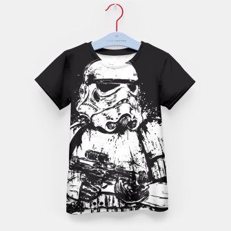 Miniaturka Trooper of Empire  Camiseta para niños, Live Heroes