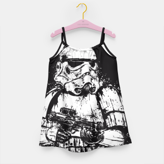 Miniaturka Trooper of Empire  Vestido para niñas, Live Heroes