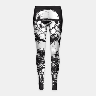Thumbnail image of Trooper of Empire  Leggings para niña, Live Heroes