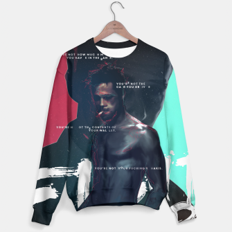 Thumbnail image of Fight Club - Alternative movie poster Sweater, Live Heroes