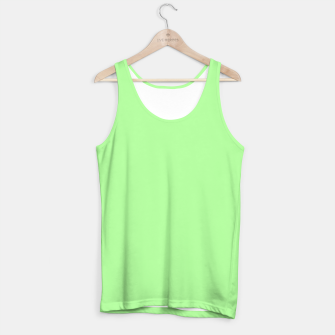 Thumbnail image of Pale Green Flat Color Tank Top, Live Heroes