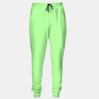 Thumbnail image of Pale Green Flat Color Sweatpants, Live Heroes