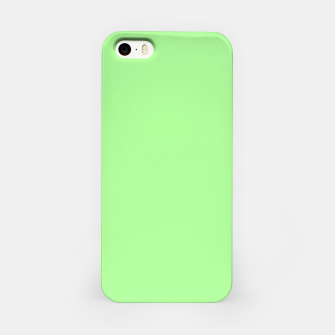 Thumbnail image of Pale Green Flat Color iPhone Case, Live Heroes
