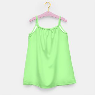 Thumbnail image of Pale Green Flat Color Girl's Dress, Live Heroes